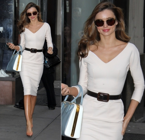 miranda-kerr-vogue-office-visit-street-style-2012-november-fashion-victoria-beckham-white-dress-prada-bag-lanvin-shoes